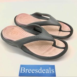 Crocs Thong Flip Flop Sandals